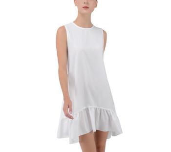 Frill Mini Swing Dress
