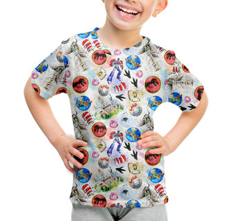 Youth Cotton Blend T-Shirt - A Universal Adventure