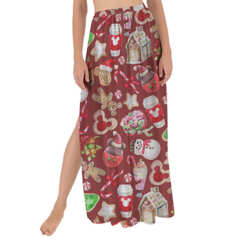 Maxi Sarong Skirt - Disney Christmas Snack Goals