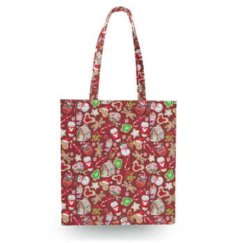 Canvas Tote Bag - Disney Christmas Snack Goals