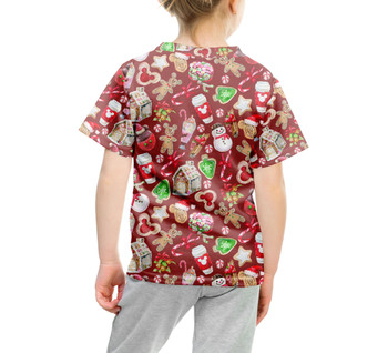 Youth Cotton Blend T-Shirt - Disney Christmas Snack Goals