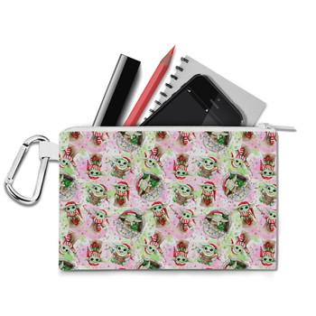 Canvas Zip Pouch - The Asset Does Christmas