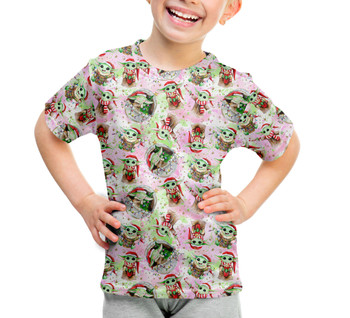 Youth Cotton Blend T-Shirt - The Asset Does Christmas