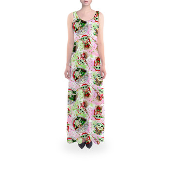 Flared Maxi Dress - The Asset Does Christmas