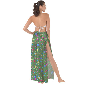 Maxi Sarong Skirt - Mouse Ears Christmas Lights