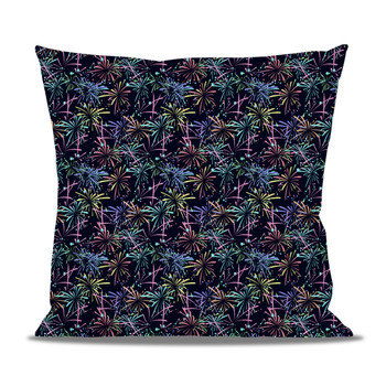 Fleece Cushion - Fireworks