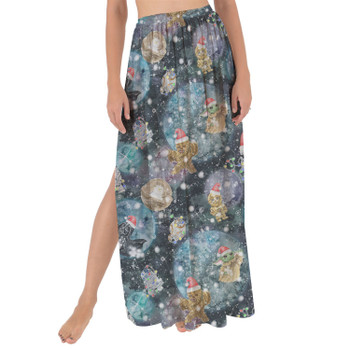 Maxi Sarong Skirt - A Christmas Far Far Away