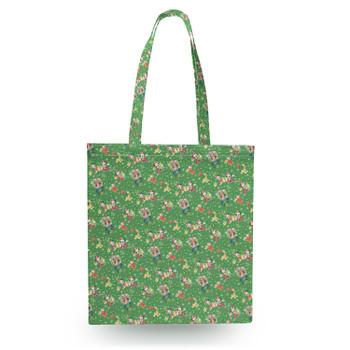 Canvas Tote Bag - Mickey & Friends Celebrate Christmas