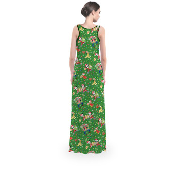Flared Maxi Dress - Mickey & Friends Celebrate Christmas