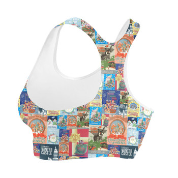 Sports Bra - Holiday Attraction Posters Disney Parks