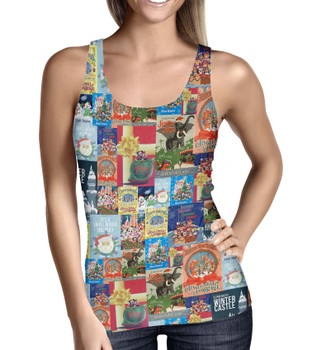 Women's Tank Top - Holiday Attraction Posters Disney Parks