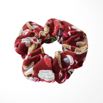 Velvet Scrunchie - Disney Christmas Snack Goals