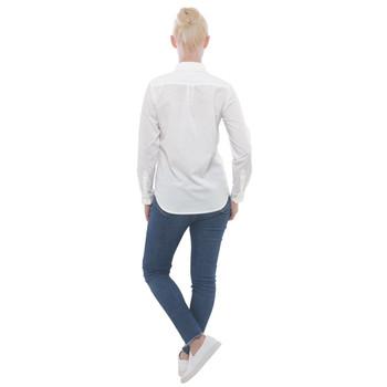 Women's Button Down Long Sleeve Pocket Shirt