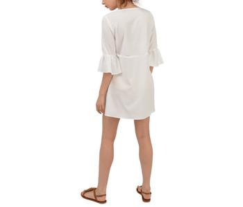 Criss Cross Belted Mini Dress
