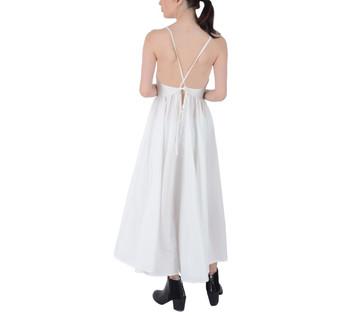 Tie Back Summer Maxi Dress