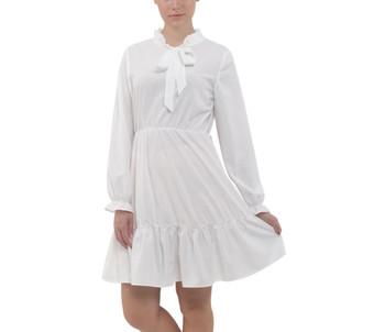 All Frills Chiffon Mini Dress