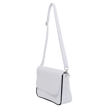 Classic Shoulder Purse with Back Zipper