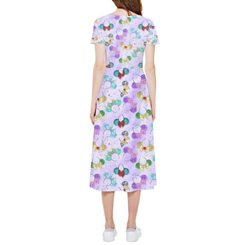 High Low Midi Dress - Princess Minnie Ears