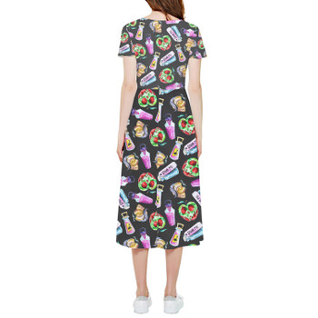 High Low Midi Dress - Pick Your Poison