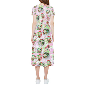 High Low Midi Dress - The Asset Does Christmas