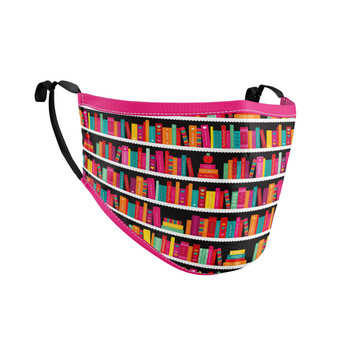 Fitted Face Mask with 50 filters - Library Book Case