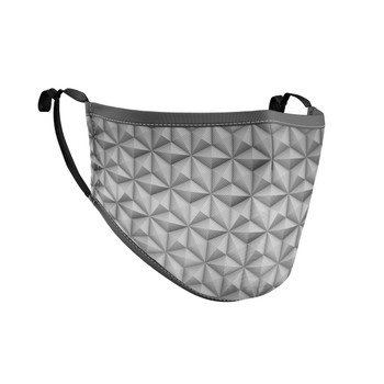 Fitted Face Mask with 50 filters - EPCOT Icon