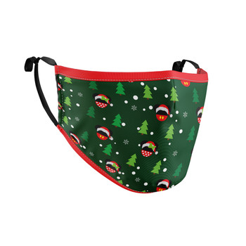 Fitted Face Mask with 50 filters - Christmas Santa Mickey & Minnie