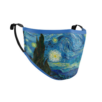 Fitted Face Mask with 50 filters - Van Gogh Starry Night