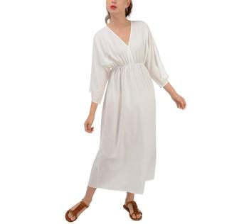 Grecian Style Chiffon Maxi Dress