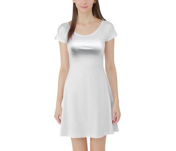 Short Sleeve Skater Dress