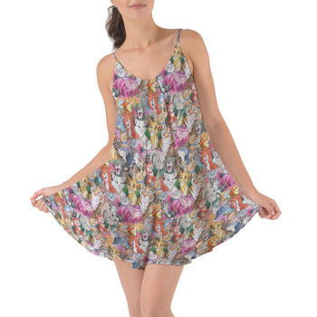 Beach Cover Up Dress - Cats of Disney