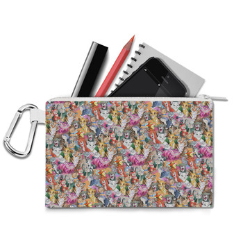 Canvas Zip Pouch - Cats of Disney