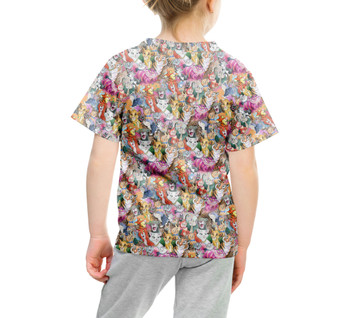 Youth Cotton Blend T-Shirt - Cats of Disney