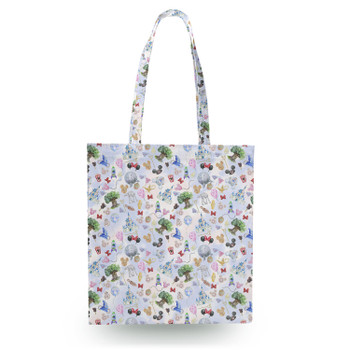Canvas Tote Bag - WDW Park Hopper