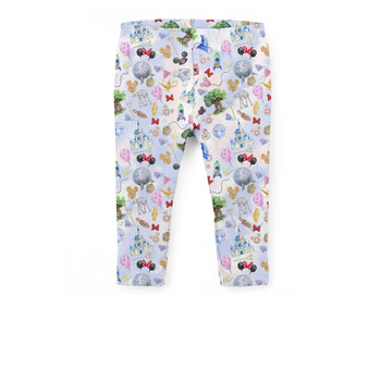 Girls' Capri Leggings - WDW Park Hopper