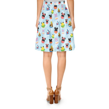 A-Line Skirt - Mickey & Friends Easter Eggs