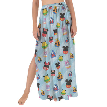 Maxi Sarong Skirt - Mickey & Friends Easter Eggs