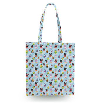 Canvas Tote Bag - Mickey & Friends Easter Eggs