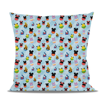 Fleece Cushion - Mickey & Friends Easter Eggs