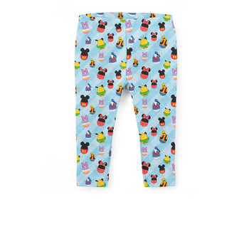 Girls' Capri Leggings - Mickey & Friends Easter Eggs