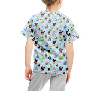 Youth Cotton Blend T-Shirt - Mickey & Friends Easter Eggs