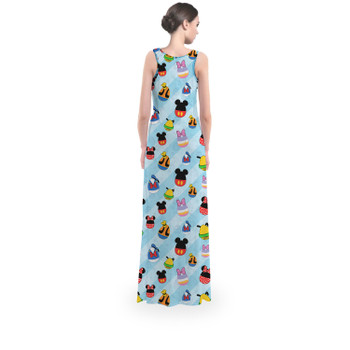 Flared Maxi Dress - Mickey & Friends Easter Eggs