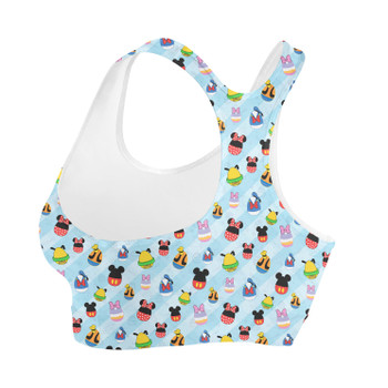 Sports Bra - Mickey & Friends Easter Eggs