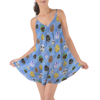 Beach Cover Up Dress - Star Wars Easter Eggs