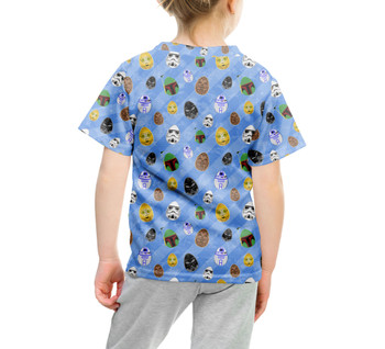 Youth Cotton Blend T-Shirt - Star Wars Easter Eggs