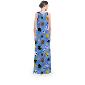 Flared Maxi Dress - Star Wars Easter Eggs
