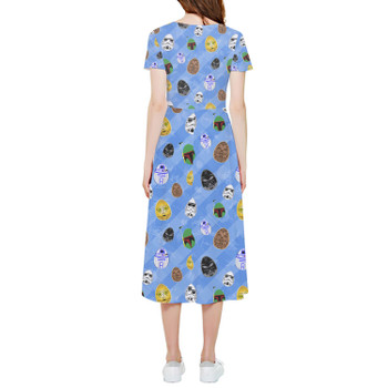 High Low Midi Dress - Star Wars Easter Eggs