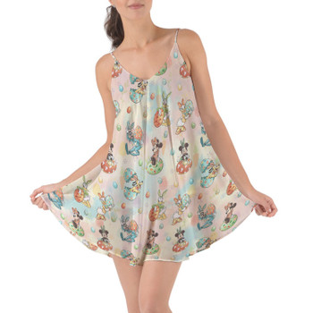 Beach Cover Up Dress - Mickey's Easter Celebration