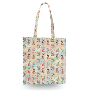 Canvas Tote Bag - Mickey's Easter Celebration
