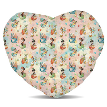 Fleece Cushion - Mickey's Easter Celebration